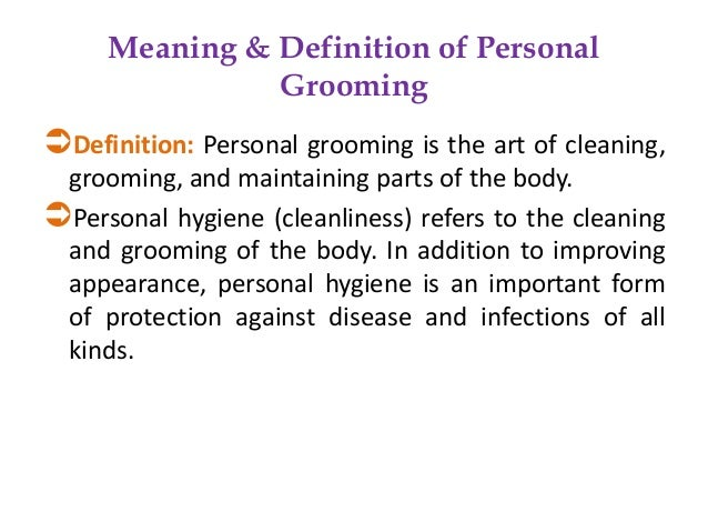 Grooming skills - Salon art definition ...