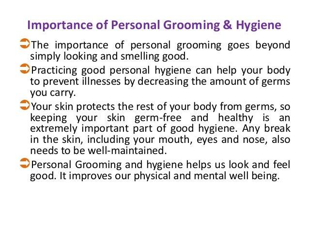 personal hygiene speech in english
