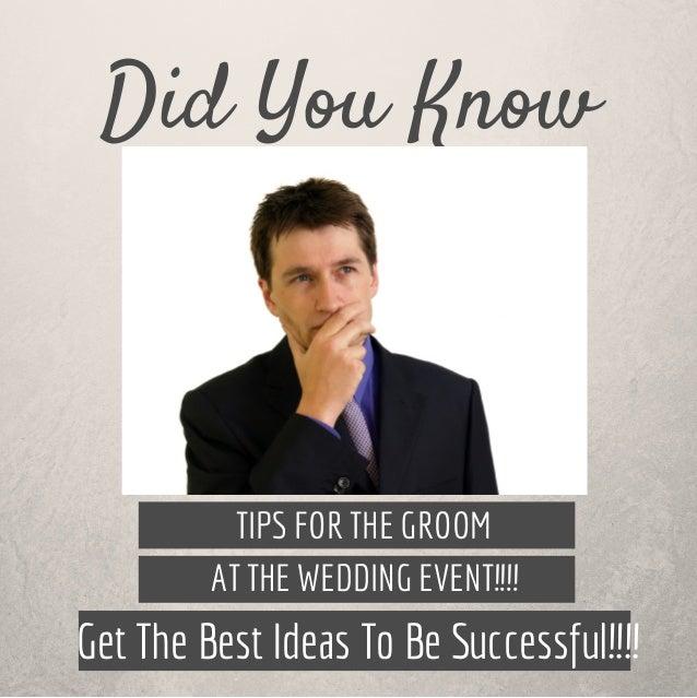 Groom Wedding Ideas: Groom Wedding Ideas