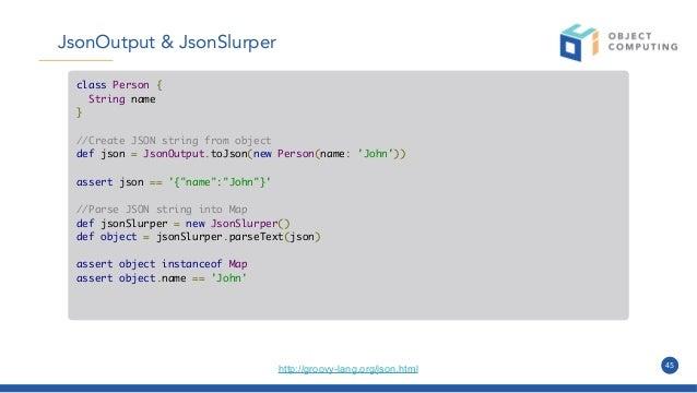 Groovy for Java Devs