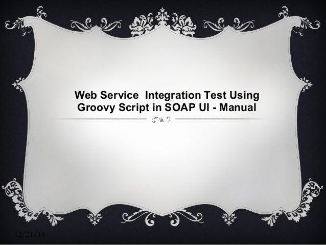 web integration framework manual