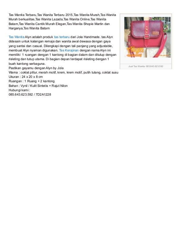 085 643 623 592 Indosat Toko Tas Wanita Branded Online Murah Te