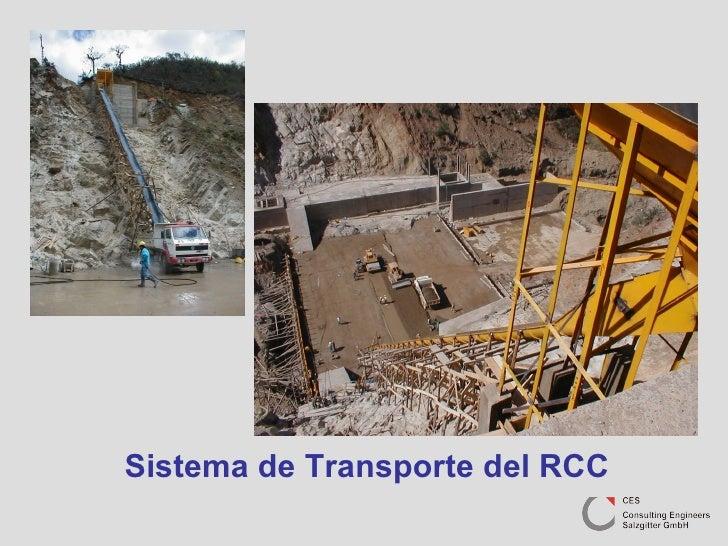 Sistema de Transporte del RCC
