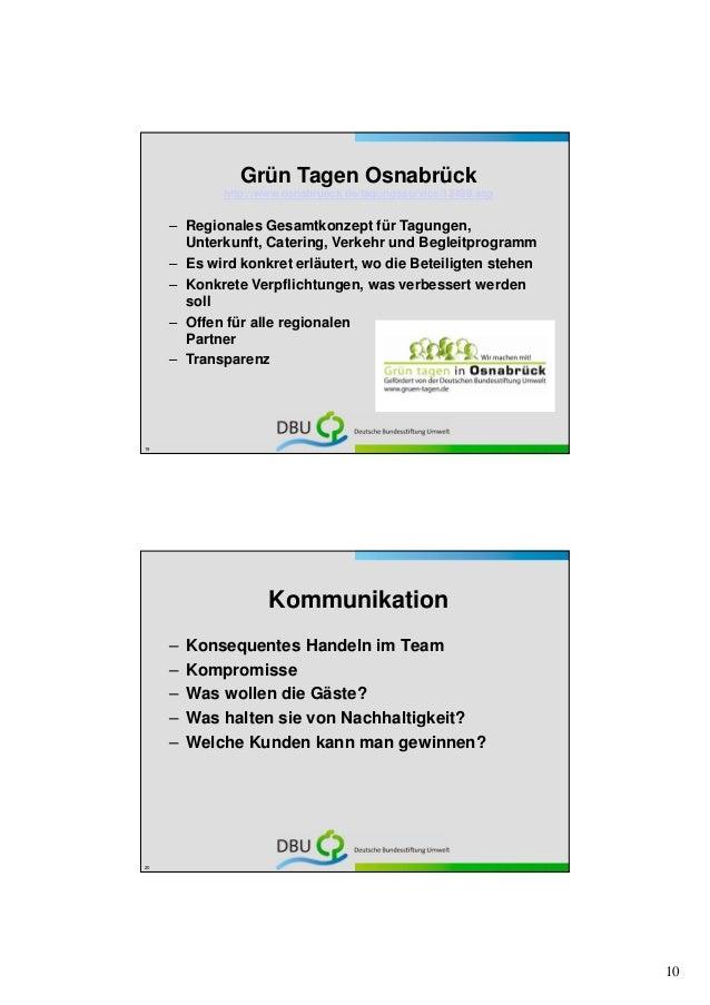 Grün Tagen Osnabrück             http://www.osnabrueck.de/tagungsservice/12499.asp     – Regionales Gesamtkonzept für Tagu...