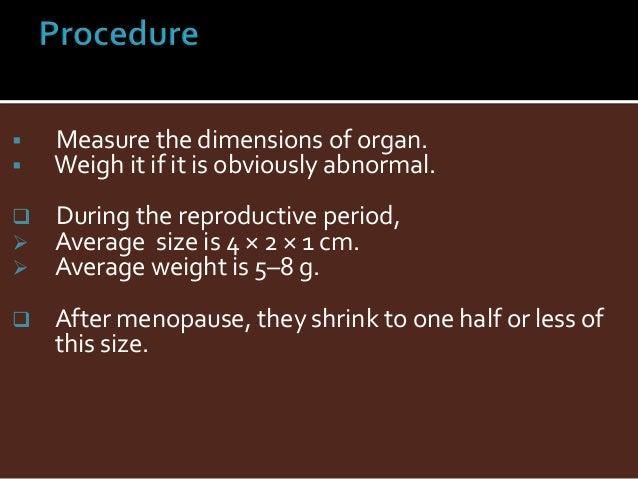 grossing procedure for ovary. Black Bedroom Furniture Sets. Home Design Ideas