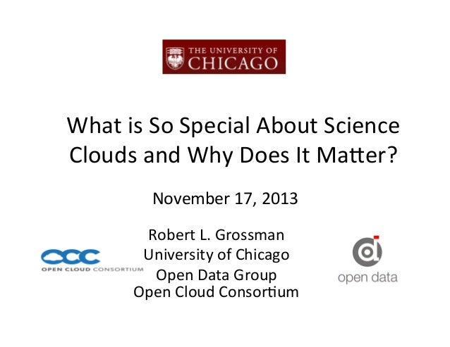 What	   is	   So	   Special	   About	   Science	    Clouds	   and	   Why	   Does	   It	   Ma8er?	   	    November	   17,	 ...