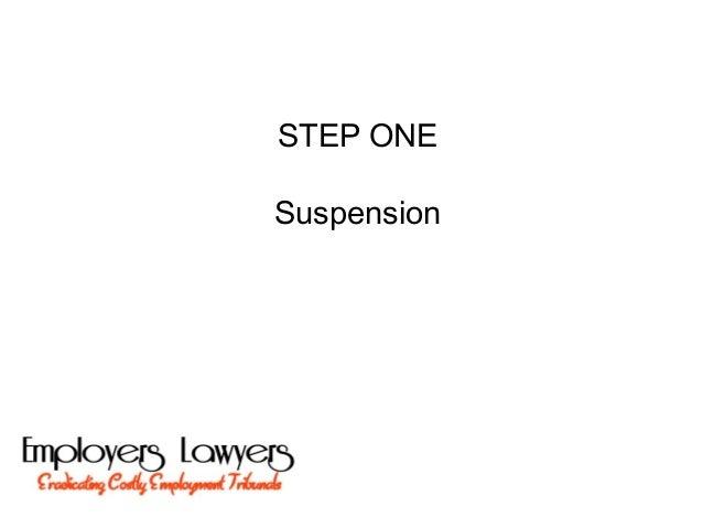 STEP ONESuspension