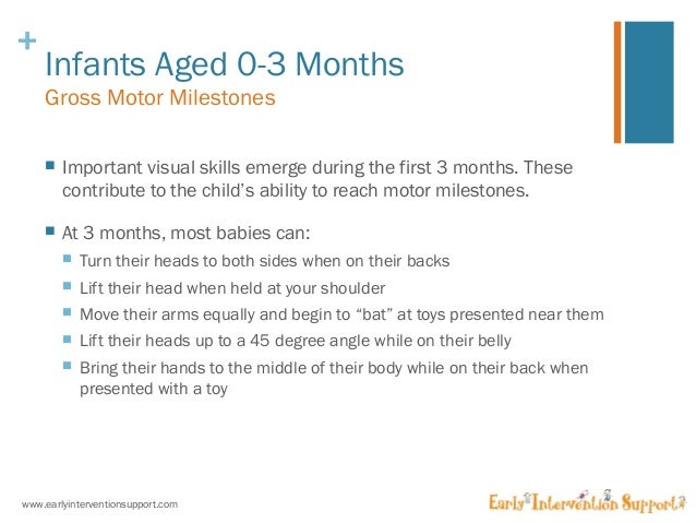 Gross Motor Skills Development For Infants