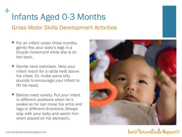 gross motor skills for 0 2 year olds