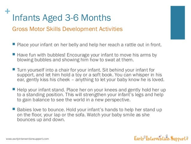 Gross Motor Skills Amp Development For Infants