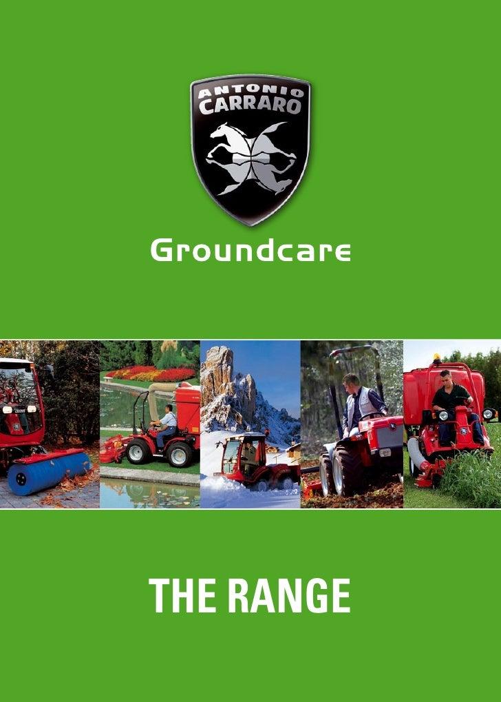 Groundcare     THE RANGE