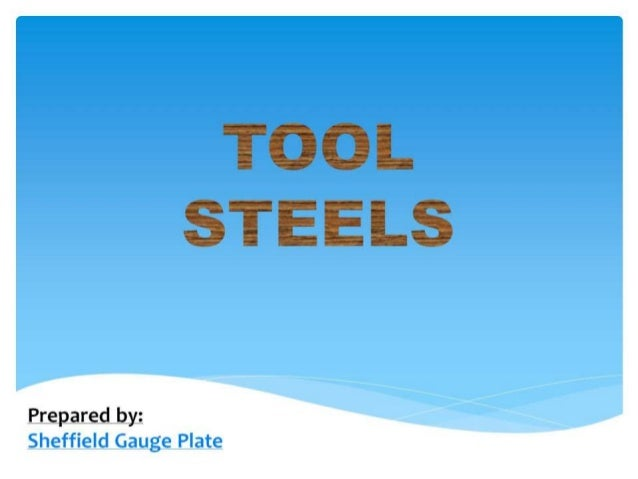 Types & Applications Tool Steels For Guillotine Blades
