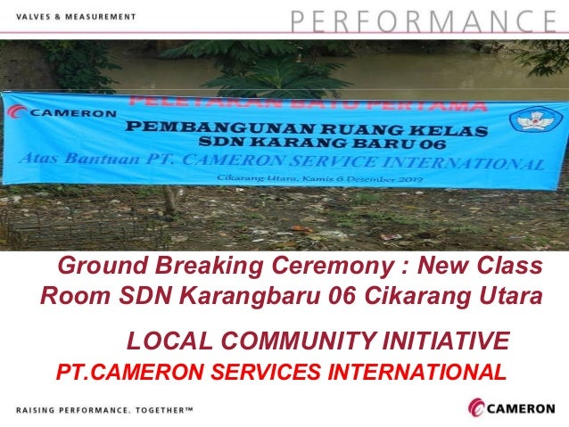 Cover graphic should fill and not exceed the defined grey box. Ground Breaking Ceremony : New ClassRoom SDN Karangbaru 06 ...