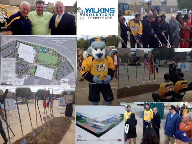Nashville Predators-Metro Parks & Recreation-Nashville Public Library Ground Breaking