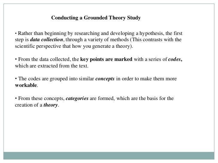 Writing A Grounded Theory Dissertation for most actually