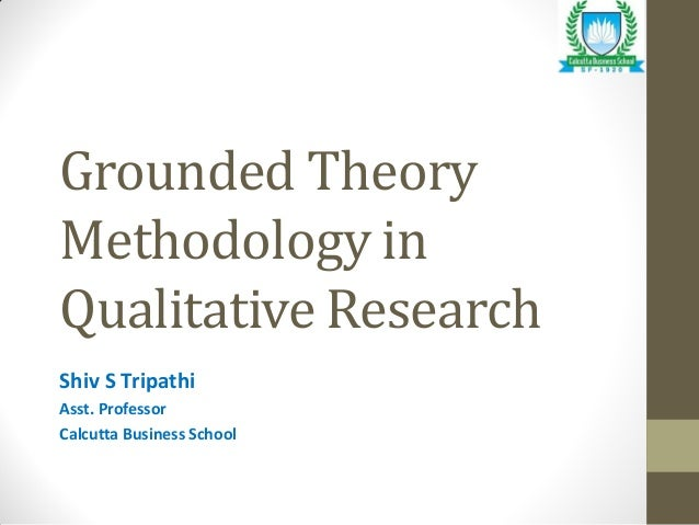 Research methodology theory
