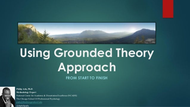 Master thesis grounded theory