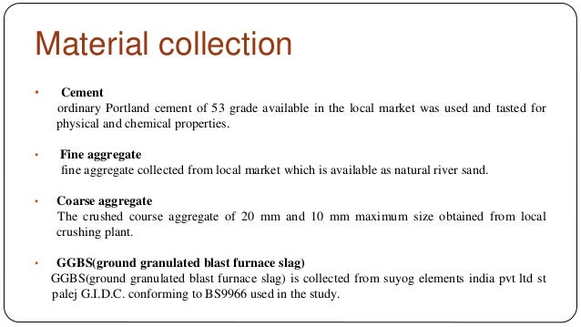 Slag Cement Grade : Ground granulated blast furnace slag ggbs