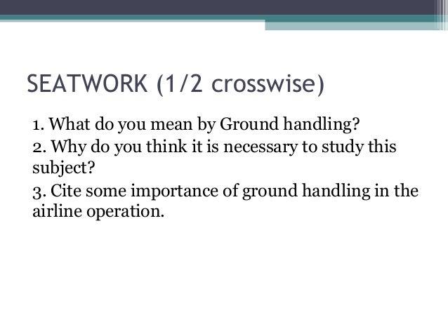 Airport Ground Handling (Introduction) Slide 2