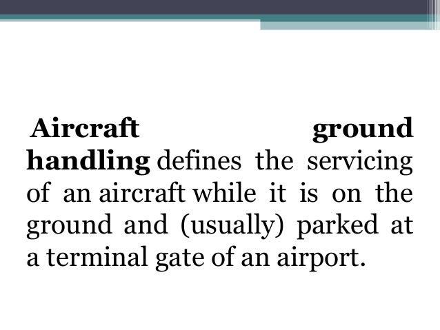 Airport Ground Handling (Introduction) Slide 3