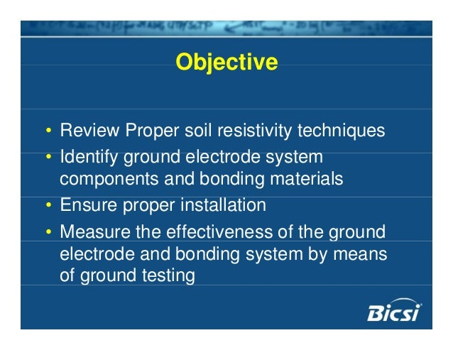 Grounding and bonding testing