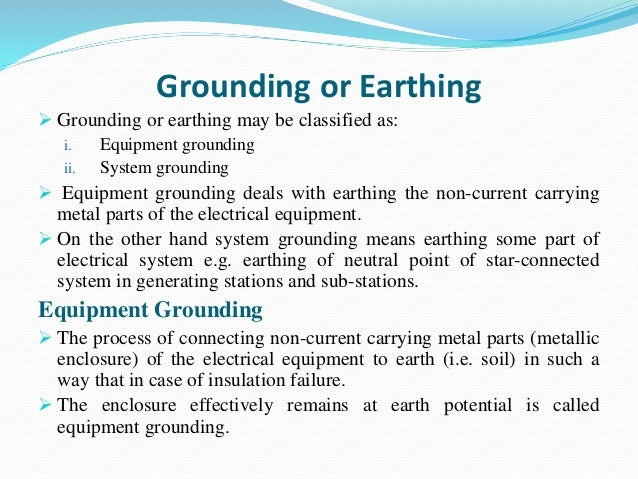 difference between neutral and earth pdf