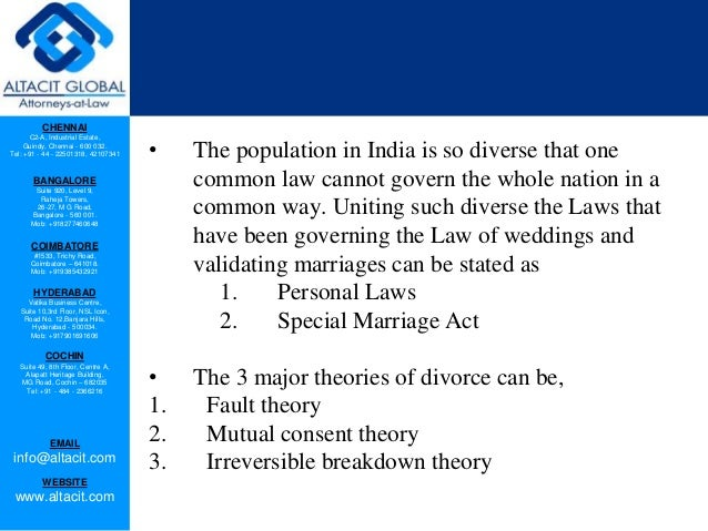 Grounds for divorce in India Slide 2