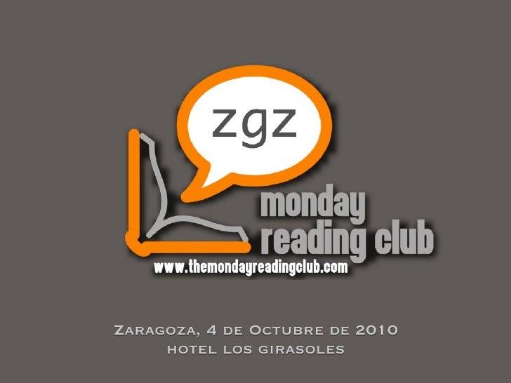 Zaragoza, 4 de Octubre de 2010      hotel los girasoles