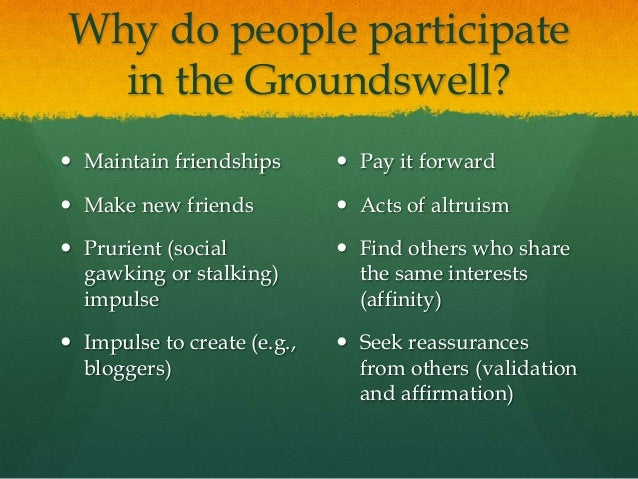 groundswell winning in a world transformed by social technologies pdf