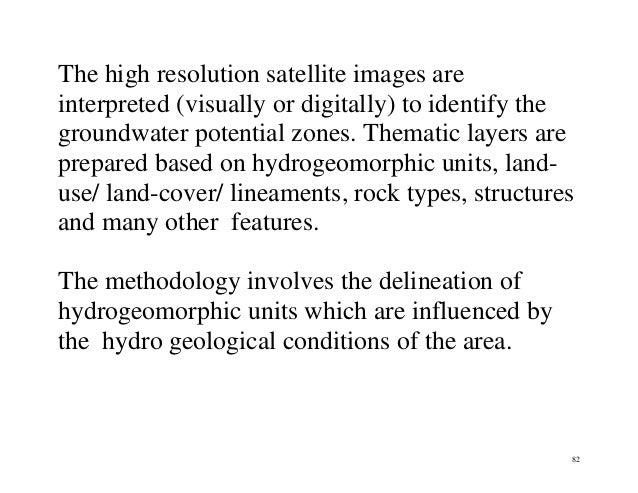 Groundwater exploration methods