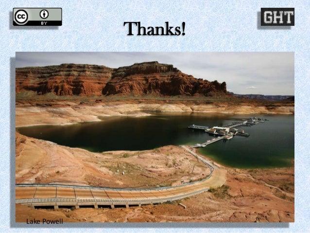 Thanks! Lake Powell