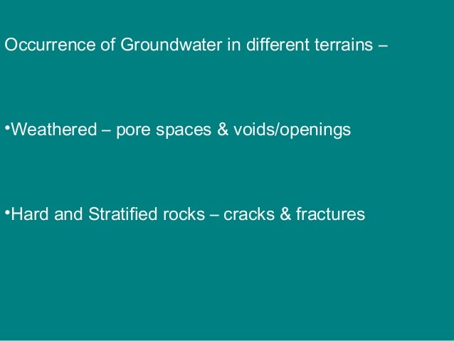 Unconfined aquifer • Ground water possesses a free surface open to the atmosphere • • Upper surface of the zone of saturat...