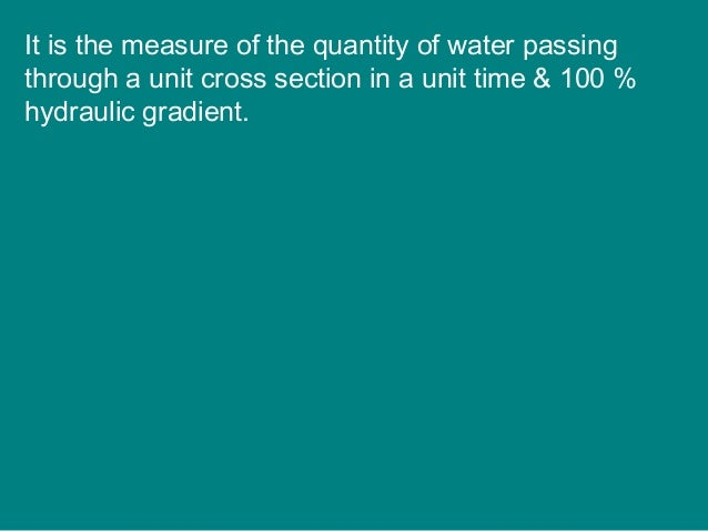 B. Artesian Wells: water flows freely with no pumping • Underground water under pressure (between two impermeable rock lay...