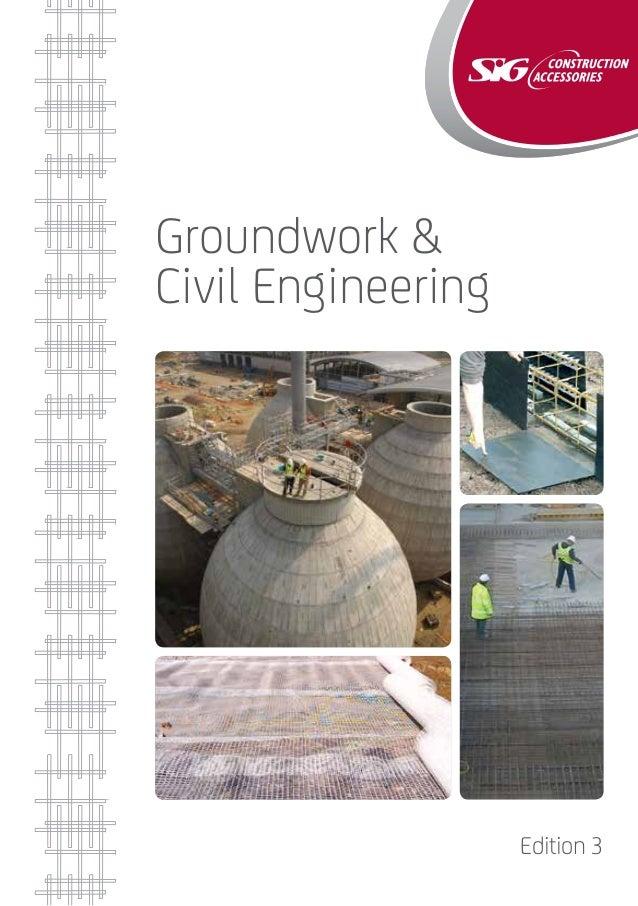 Groundwork & Civil Engineering Edition 3