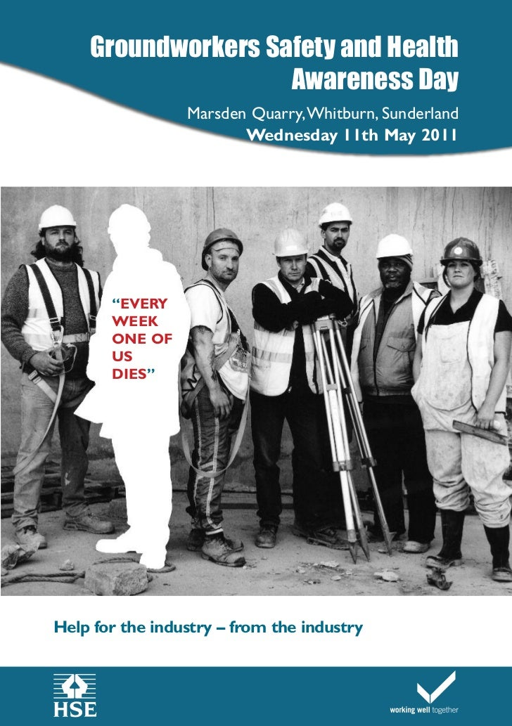 Groundworkers Safety and Health                    Awareness Day                 Marsden Quarry,Whitburn, Sunderland      ...