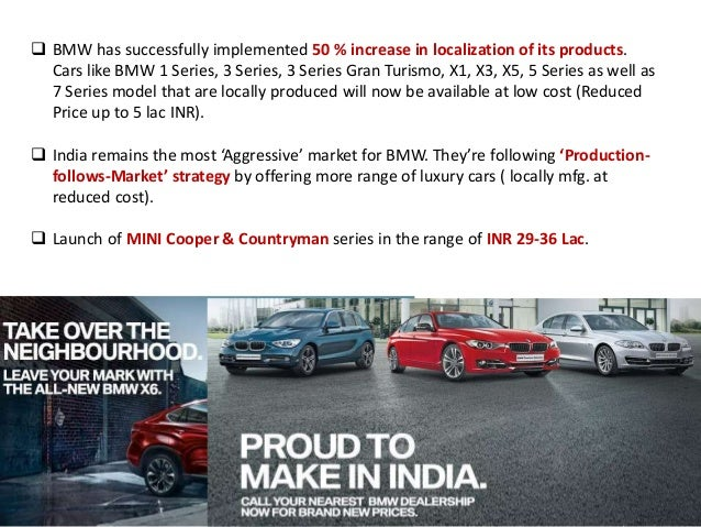 bmw pricing strategy