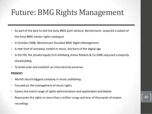 bmg case analysis Will internet providers have to start cracking down analysis: the copyright case that should that a jury had awarded in december to bmg.