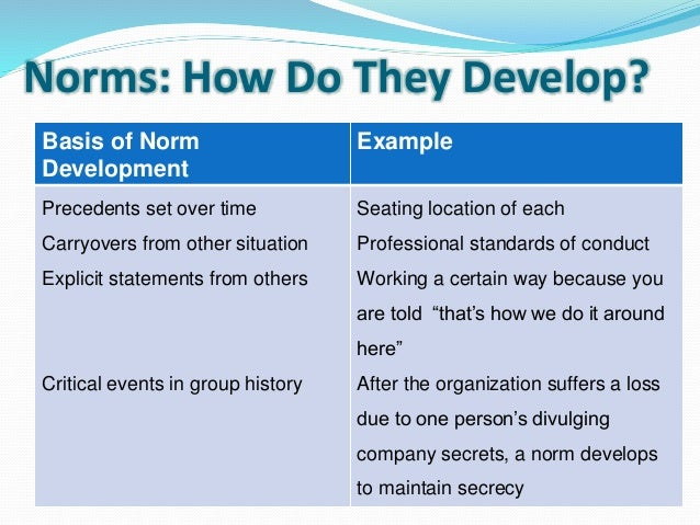 group dynamics and team development essay