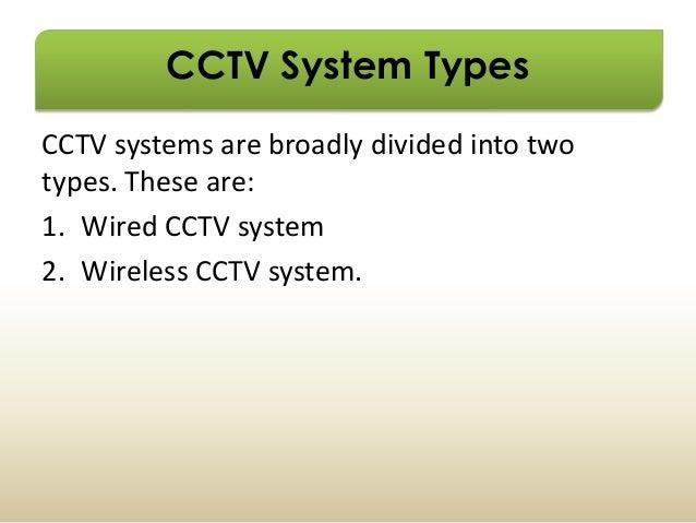 CCTV Security surveillance system - PowerPoint PPT Presentation
