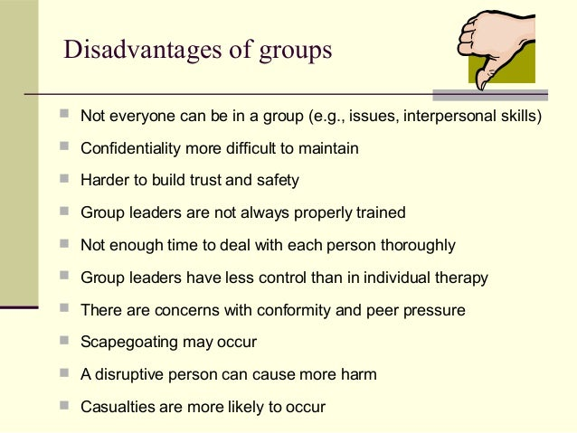 disadvantages of work groups Teams definitely are forms of work groups, but not all work groups are teams in fact, plain work groups are much more numerous than teams work groups function on.