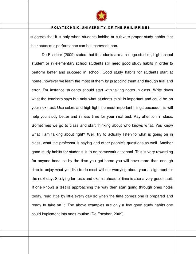 essay samples with outline literary analysis