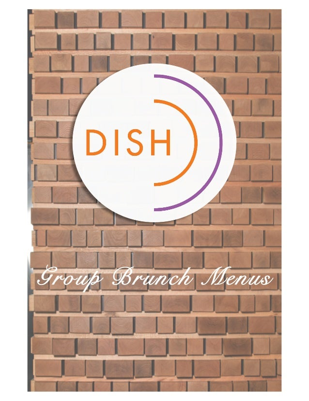 Group Brunch Menus