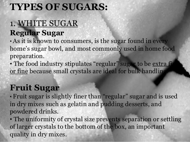 Group 3 sugars