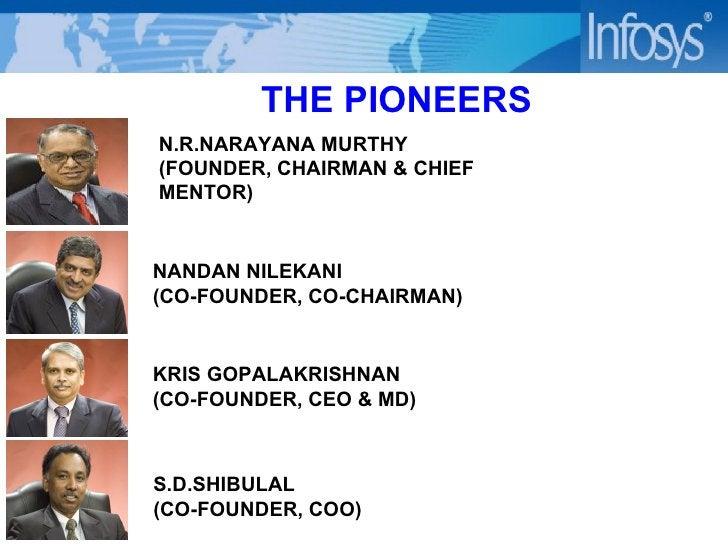 KRIS GOPALAKRISHNAN (CO-FOUNDER, CEO & MD) NANDAN NILEKANI  (CO-FOUNDER, CO-CHAIRMAN) N.R.NARAYANA MURTHY  (FOUNDER, CHAIR...