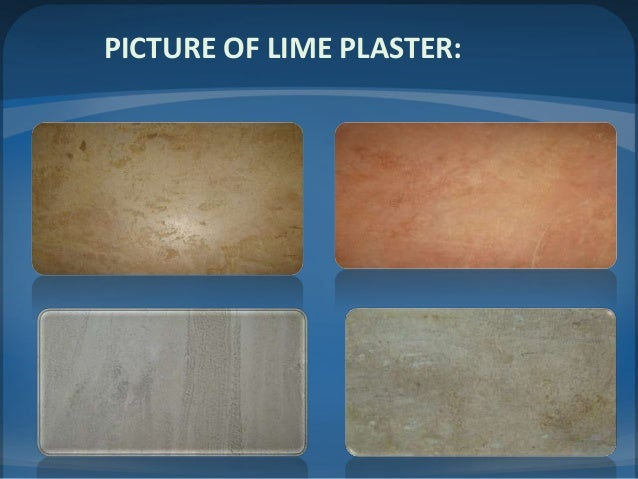 Types Of Plaster : Presentation on brick masonry paint and plastering