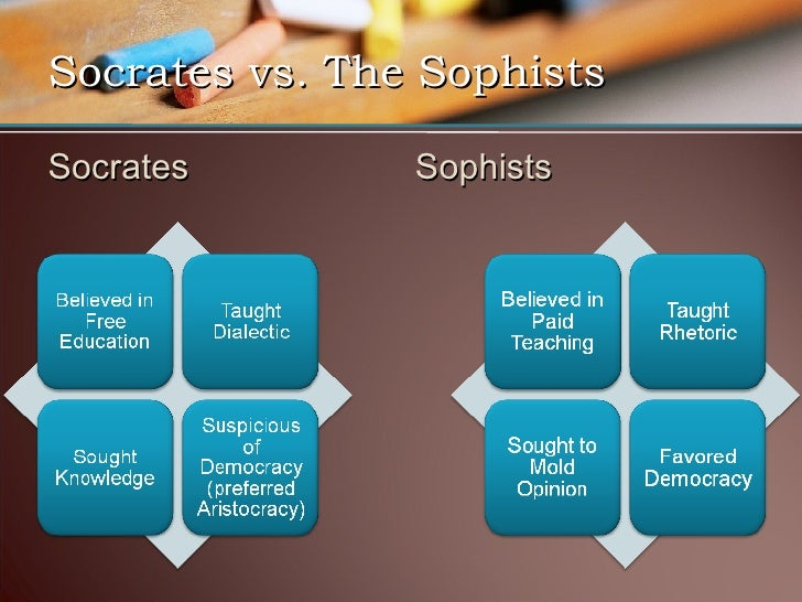 How Was Socrates Different From the Sophists?