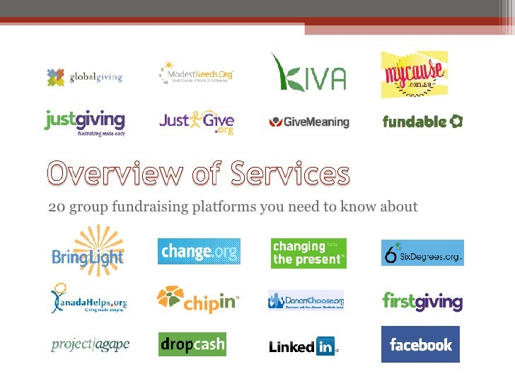 <ul><li>20 group fundraising platforms you need to know about </li></ul>