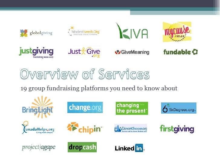 <ul><li>19 group fundraising platforms you need to know about </li></ul>