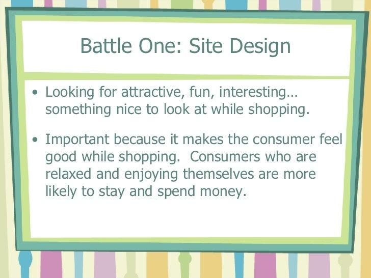 Group Work Week Two Online Shopping Slide 2