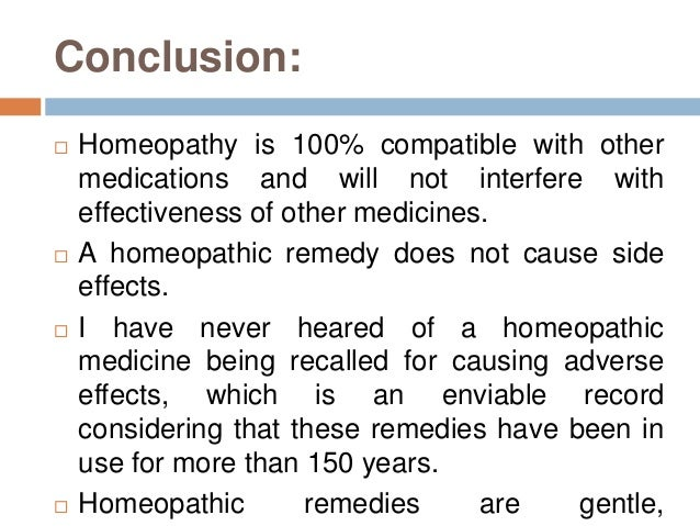 Allopathy and homeopathy